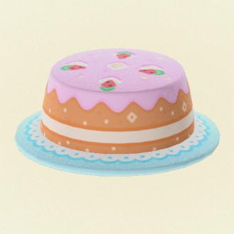 Super Cake Hat Brimmed Hat Pro Design Code Animal Crossing New Horizon Personalised Birthday Cards Veneteletsinfo