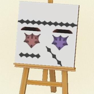 Kawaii Zombie Face Paint Pro Design Code Animal Crossing New Horizon